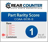 Rarity of COAA6038B