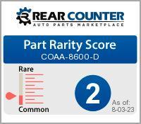Rarity of COAA8600D