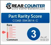 Rarity of COAB5943814C