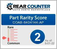 Rarity of COAB6404144AP