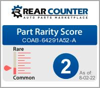 Rarity of COAB64291A52A