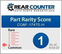 Rarity of COAF17470H
