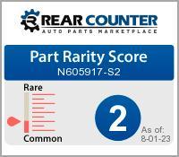 Rarity of N605917S2