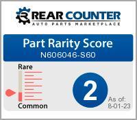 Rarity of N606046S60