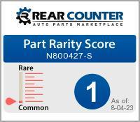 Rarity of N800427S