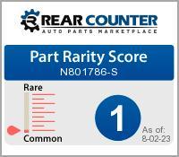 Rarity of N801786S