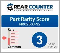 Rarity of N802863S2