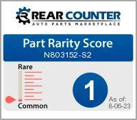 Rarity of N803152S2