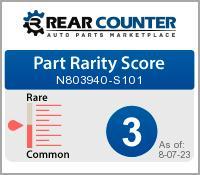 Rarity of N803940S101