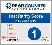 Rarity of N805890S40