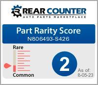 Rarity of N806493S426