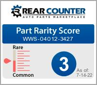 Rarity of WWS040123427