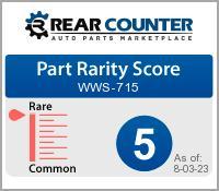 Rarity of WWS715